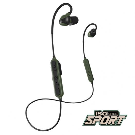 ISOTUNES Sport Advance Grün aktiver Gehörschutz