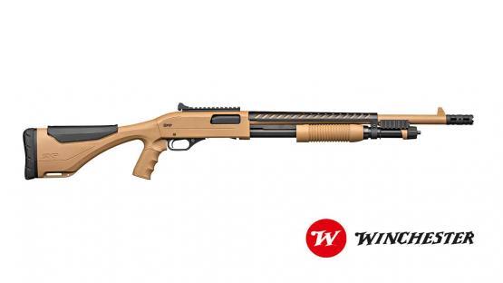 Winchester Xtreme Dark Earth Defender 12/76 Vorderschaftrepetierflinte