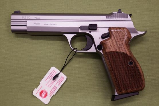 SIG Sauer P210 Legend Silver 9mmLuger - MADE IN GERMANY