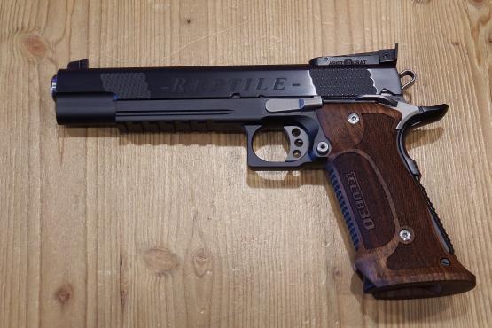 Club 30 Reptile PVD SCHWARZ Pistole  9mm Luger