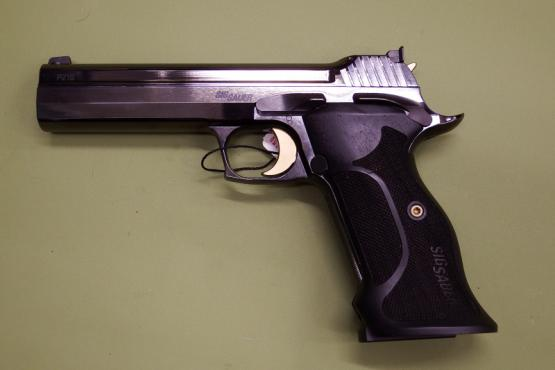 SIG Sauer P210 Midnight 9mm Luger Pistole MADE IN GERMANY