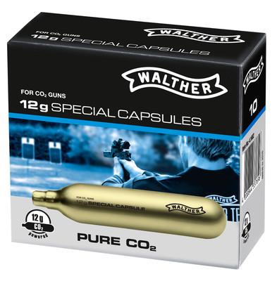 Walther Co2 Kapseln 12g 10 Stück