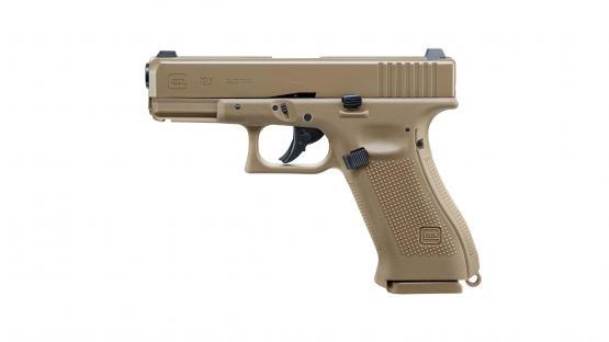Glock 19X cal. 4,5 mm (.177) 2,0J Blowback FDE