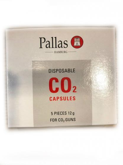Pallas Co2 Kapseln 12g 5 Stück für Co2 Pistolen