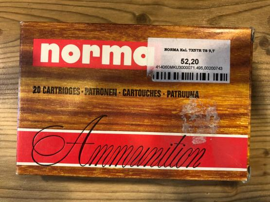 Norma 7x57R 10gr 154grs