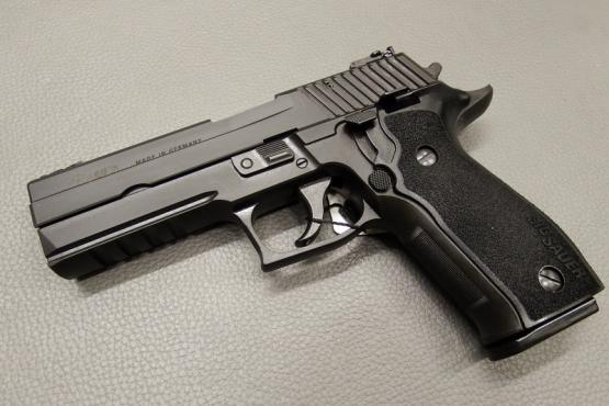 SIG Sauer P226 LDC II 9mm Luger Pistole MADE IN GERMANY!