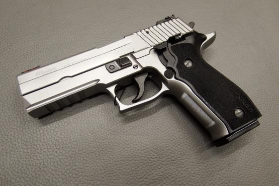 SIG Sauer P226 LDC II SA/DA SRT Silber 9mm Luger MADE IN GERMANY