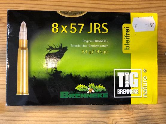 Brenneke 8X57 JRS TIG Brenneke 9,4g 145grs