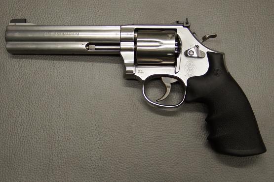 """Smith & Wesson Mod. 686-6 / Kaliber .357 Magnum / 6"""" Lauflänge / Stainless Revolver"""