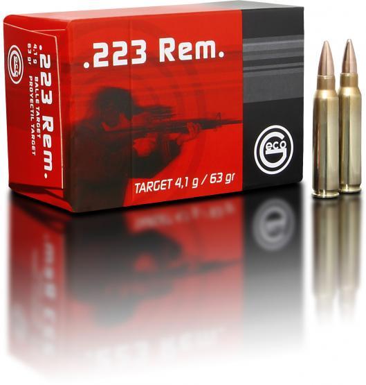 Geco .223 Rem 4,1g 63grs Target Geschoss