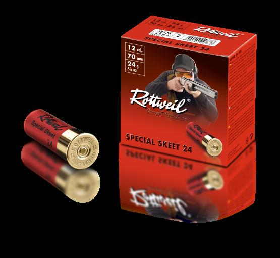 Rottweil 12/70 Special Skeet 24g 2.0g - 250 Schuss für 65€!