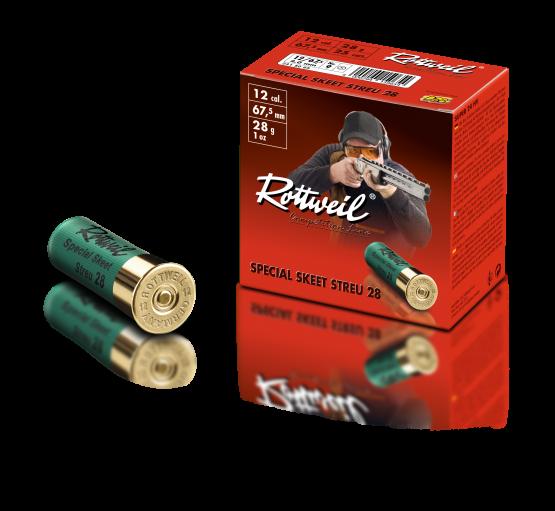 Rottweil 12/67,5 Special Skeet Streu - 250 Schuss für 65€!