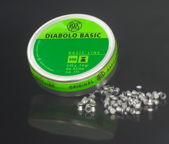 RWS Diabolo Basic 4,5mm 500 Stück