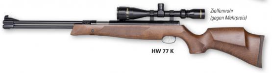 Weihrauch HW 77 K F 4,5mm