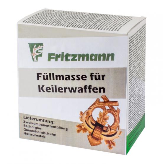 Fritzmann Füllmasse für Keilerwaffen
