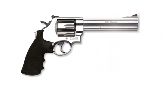 "Smith & Wesson Mod. 629 Classic, stainless .44RemMag, 6.5"", Full Lug Revolver"