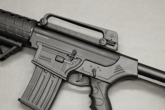 PALLAS PX-1 Selbstladeflinte Kaliber 12/76 (AR-15 AR-10 Klon) SL-Flinte