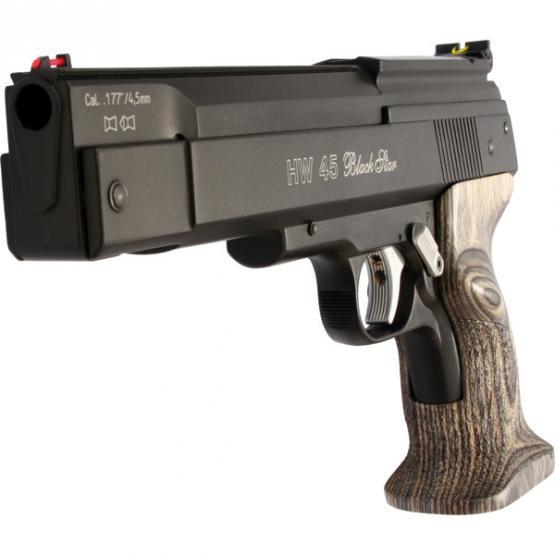 Weihrauch HW 45 Black Star Luftpistole
