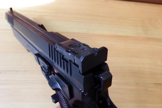 "NEU: CZ 75 PRO TUNING Sport II TAIPAN 6"" Kaliber 9mm Luger"