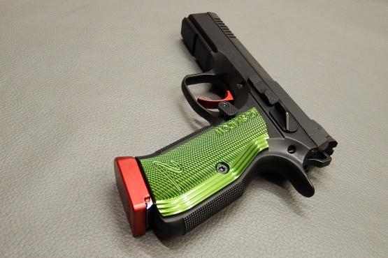 CZ Shadow 2 Optics Ready SAO Red/Green