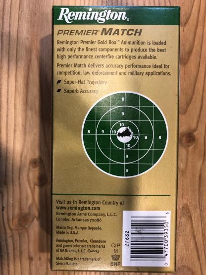 Remington .223 Rem. Sierra Match King