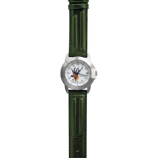 Greiner Uhr Lumi-Time 2229-G Rehkopf