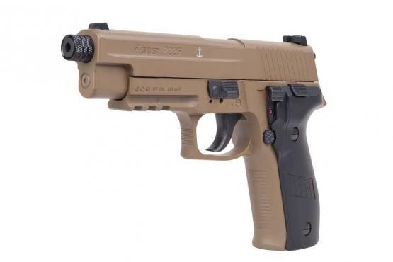 SIG Sauer P226 FDE 4,5mm Diabolo 16 Schuss