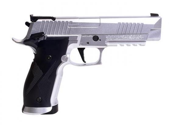 SIG Sauer X-Five 4,5mm Blow Back silber