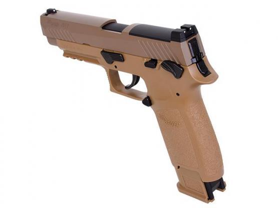 SIG Sauer P320-M17 4,5mm Coyote Tan 20 Schuss