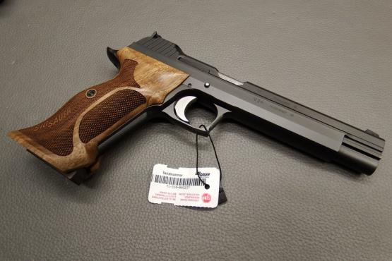 "SIG Sauer P210 Super Target 6"" Kaliber 9mm Luger"