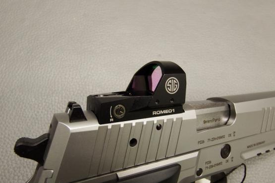 SIG Sauer X Five Production Optics 9mm Luger Pistole