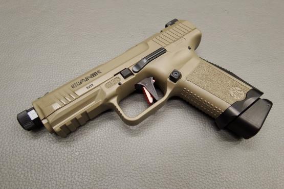 "Canik TP9 Elite Combat ""Desert"" Pistole Kaliber 9mm Luger"