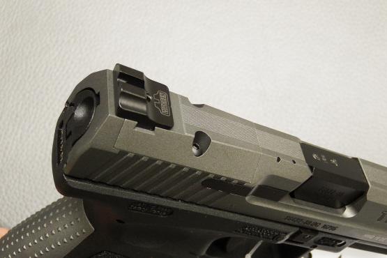 Canik TP9 SFx Tungsten Grey Kaliber 9mm Luger