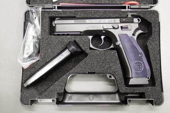CZ 75 SP-01 Kaliber 9mm Luger mit Sonderteilen