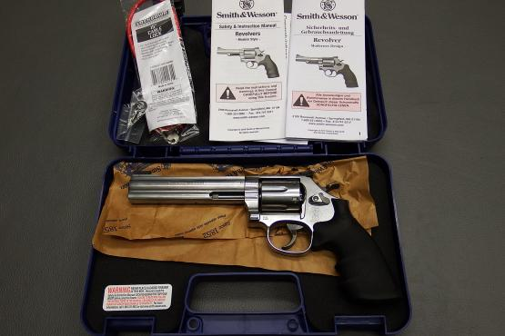 "Smith & Wesson Mod. 686-6 / Kaliber .357 Magnum / 6"" Lauflänge / Stainless"