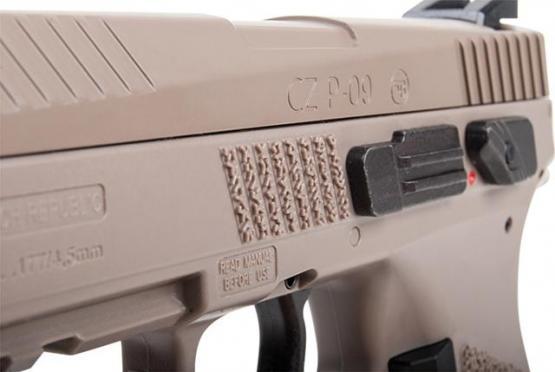 CZ 75 P-09 Duty Metalslide BlowBack TAN