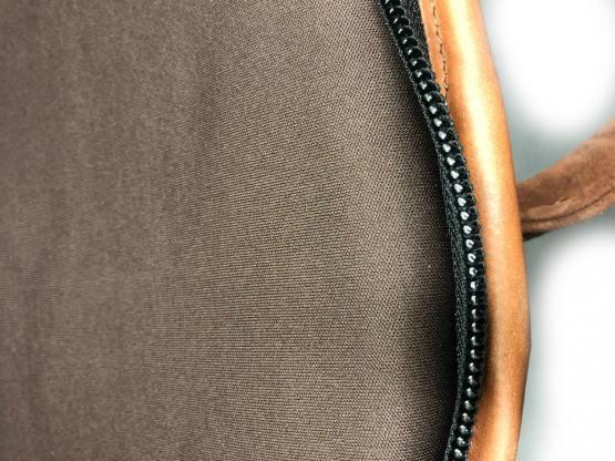 Nobil Hunting Futteral in braun aus Leder 120cm