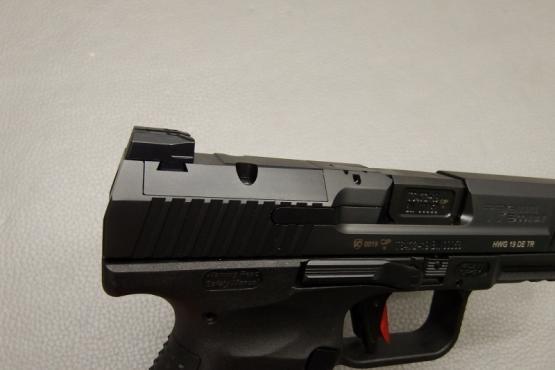 Canik TP9 Elite Combat Schwarz Pistole Kaliber 9mm Luger