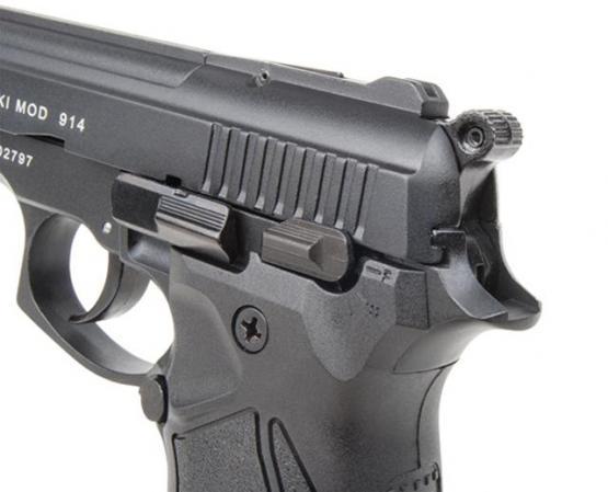 Zoraki Mod. 914 schwarz 9mm P.A.K. Schreckschuss