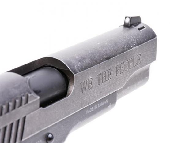 "SIG Sauer 1911 ""We The People"" Vollmetall Co2 Pistole Blowback BB 4,5 mm BB"